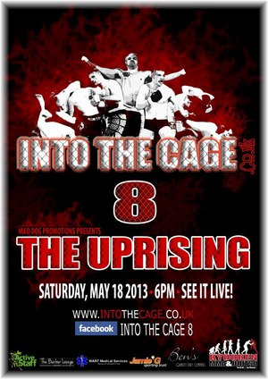 Leigh Remedios Interview and Into The Cage 8 – The Uprising Event Review