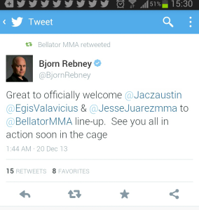 bellator tweet