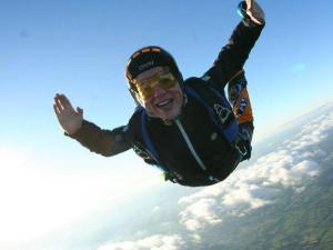 bryony sky diving