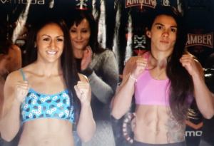 carla and claudia square off pose invicta