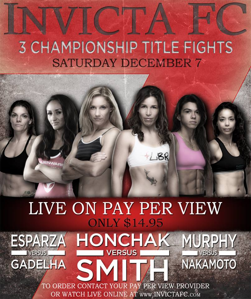 INVICTA 7 WEIGH-IN RESULTS AND HOW TO VIEW