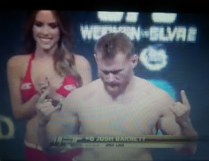josh barnett weigh in