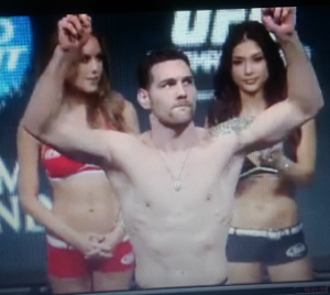 weidman weigh in