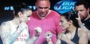 ROCKY JESS FACE OFF UFC 171