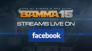BAMMA 15 Facebook Announcment