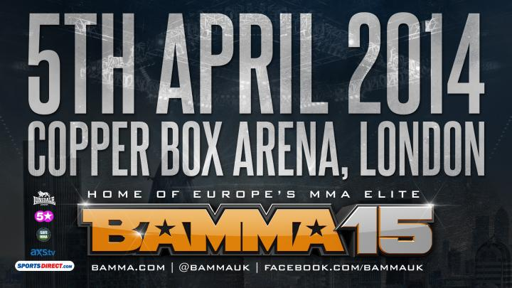 BAMMA 15 STREAMS LIVE WORLDWIDE ON FACEBOOK, NEW DEAL WITH ESPN3 (USA), FULL FIGHT CARD DETAILS, HOW TO WATCH