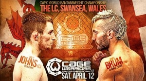cage warriors 67 poster