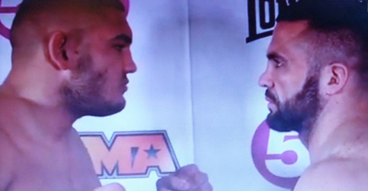 BAMMA 15 WEIGH-IN RESULTS AND PICTURES