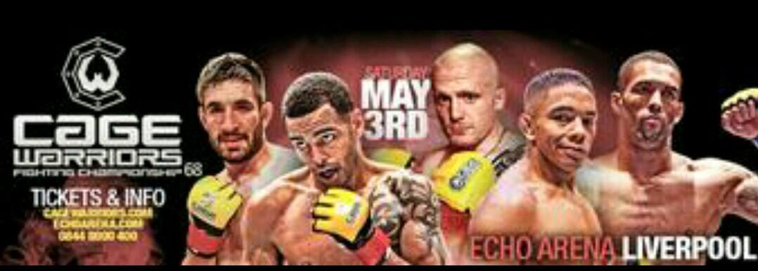 CAGE WARRIORS 68 WEIGH-IN RESULTS AND NEWRULINGS