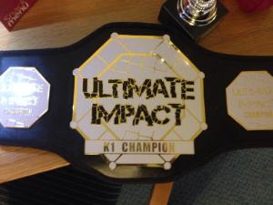K1 Champion Belt