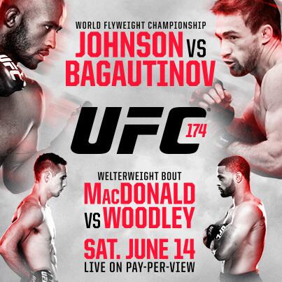 UFC 174 WEIGH-IN RESULTS