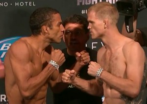 Barboza v Dunham Face Off