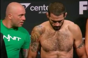 Matt Brown Weigh-In 172.5 lbs