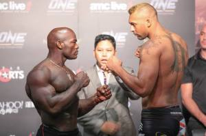 Chi Lewis-Parry v Alain Ngalani - Face Off