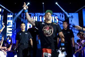 Chi Lewis Parry One FC Walk Out  [Photo Credit Cheryl Tay]