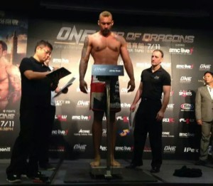 Chi Lewis-Parry - Weigh-In