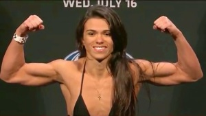 Claudia Gadelha Weighing In