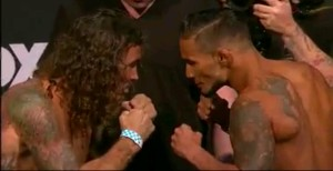 Clay Guida vs Dennis Bermudez 'Face Off'