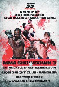 MMA Showdown 3  Helen Harper v Simona Soukopova