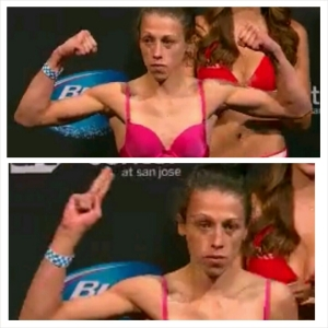 Joanna Jedrzejczyk Weigh In 115 lbs