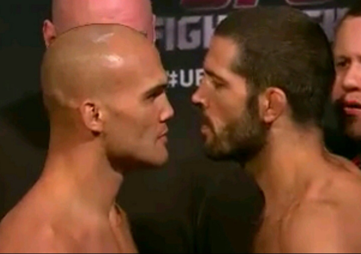 UFC ON FOX 12 WEIGH -IN RESULTS AND PICTURES