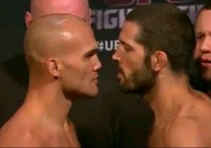 Robbie Lawler v Matt Brown 'Face Off'