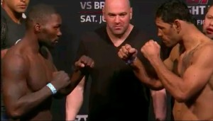Anthony 'Rumble' Johnson  v Antonio Rogerio 'Lil Nog' Nogueira 'Face Off'