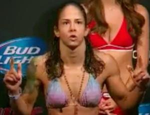 Julianna Lima Weigh-In  117 lbs