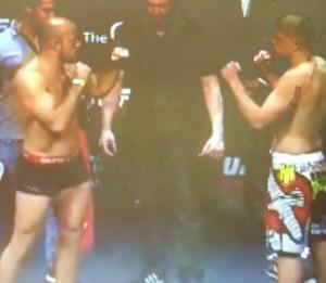 Chris Dempsey  vs. Ilir Latifi Weigh-In