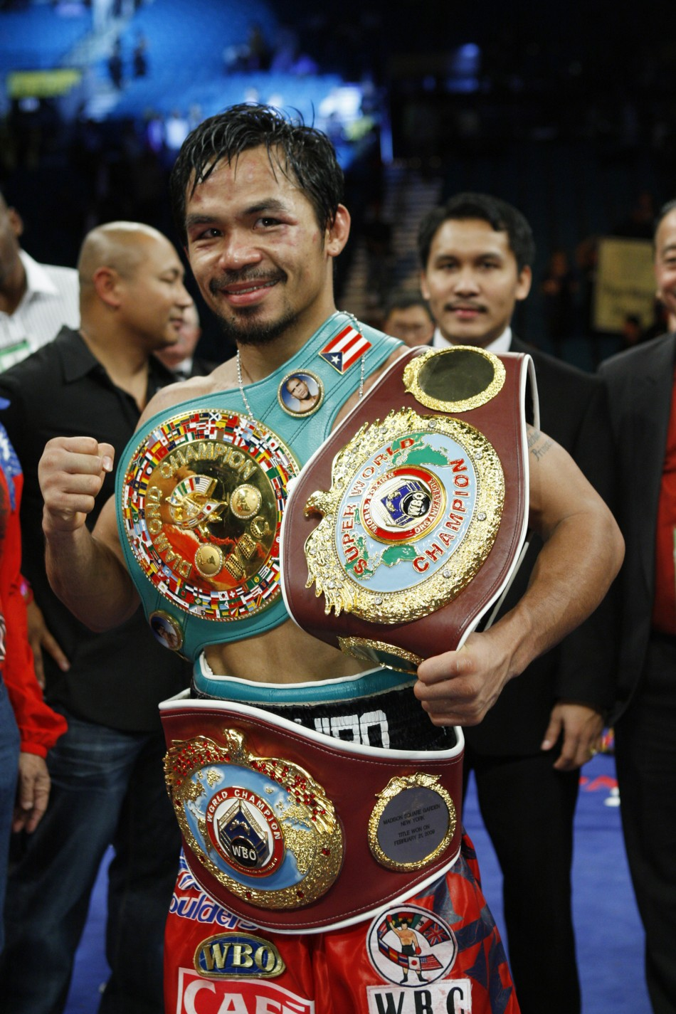 BOXING SUPERSTAR MANNY PACQUIAO BECOMES A SHAREHOLDER IN MMA PROMOTION ONEFC