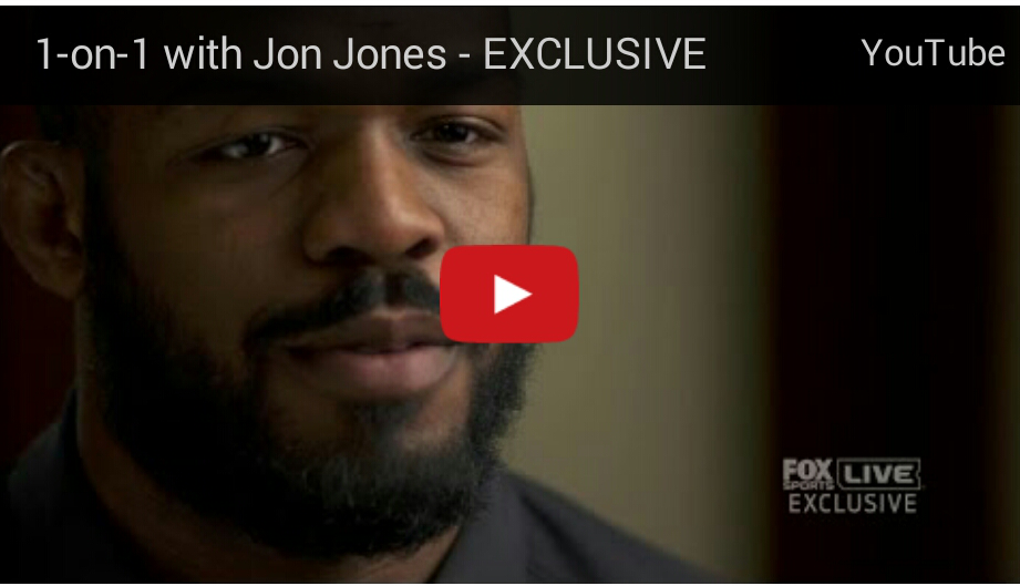 Jon Jones one on one with Fox Sports 1's Charissa Thompson