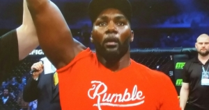 Anthony Johnson celebrating WIN