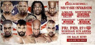 Bellator British Invasion 134