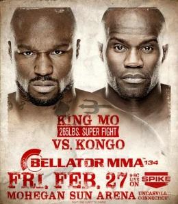 King Mo vs Cheick Kongo