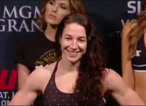 Sara McMann weigh in