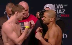 Thiago Alves vs Jordan Mein Face off