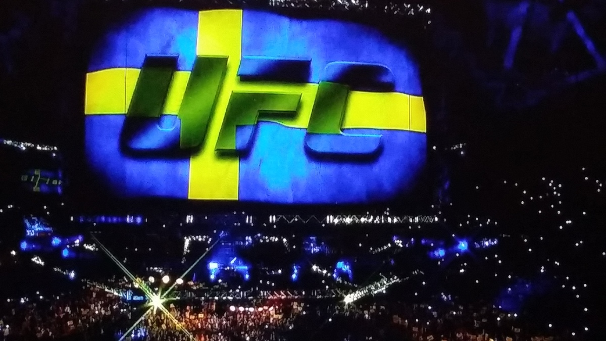 UFC ON FOX 14: STOCKHOLM, SWEDEN RESULTS