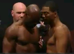 Uriah Hall and Ron Stallings Face Off