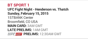 UFC Fight Night 60 Henderson Vs Thatch