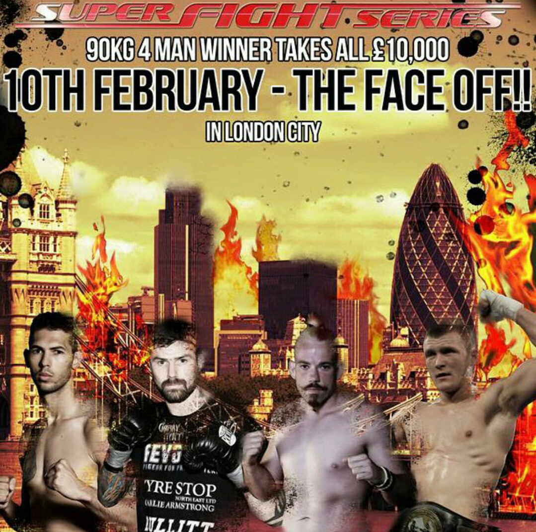 SUPER FIGHT SERIES – FOUR MAN 9OKG DRAW REVEALED