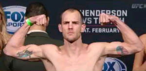 Cole Miller UFC Broomfield Weigh-In