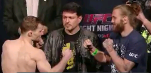 Zach Makovsky Vs Tim Elliott UFC Broomfield Face Off