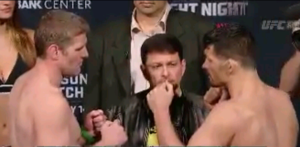 Daniel Kelly Vs Patrick Walsh UFC Broomfield Face Off