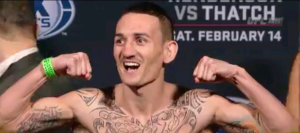 Max Holloway UFC Broomfield Weigh-In