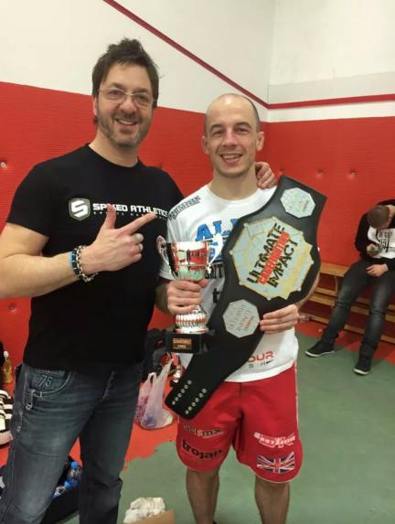 Marc Allen - UIC 14 Lightweight Champion