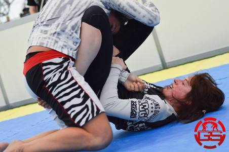 Bryony Tryrell at Grapplers Showdown