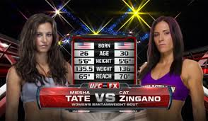 'Alpha' Cat Zingano vs Miesha Tate – Free Fight