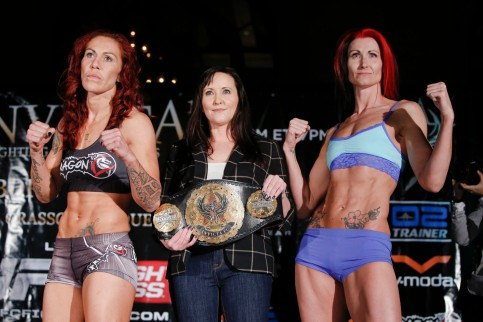Cris Cyborg and Charmaine Tweet