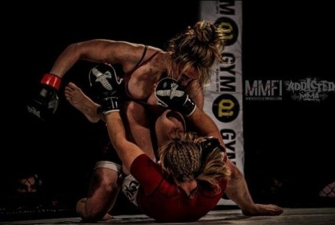 Ffion Davies first amateur MMA fight