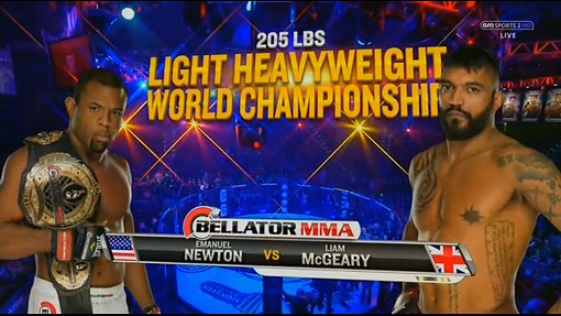 MCGEARY SET TO MAKE MMA HISTORY AT BELLATOR 134: BRITISH INVASION
